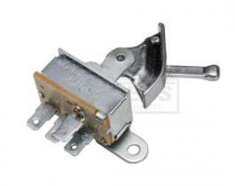 El Camino Fan Blower Switch, For Cars With Air Conditioning, 1966-1967