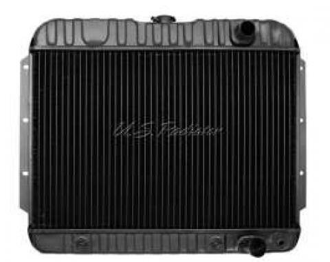 El Camino Radiator, Small Block, 4-Row, For Cars With Manual Transmission & Without Air Conditioning, U.S. Radiator, 1959-1960