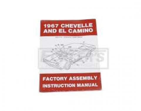 El Camino Factory Assembly Manual, 1967