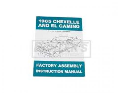 El Camino Factory Assembly Manual, 1965