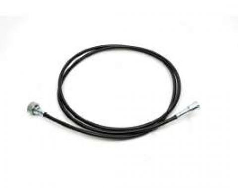 El Camino Speedometer Cable, With 3-Speed Transmission, 83-1/2 Inches, 1984-1985