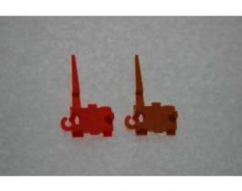 El Camino Shift Indicator Pointer, Auto With Gauges, Fire Red, 1978-1987