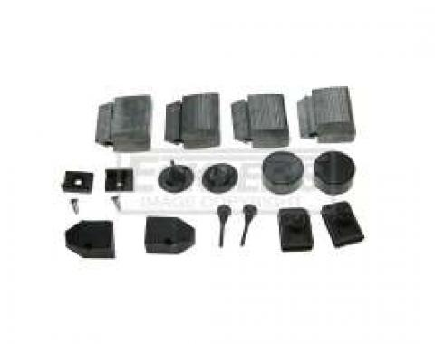 El Camino Rubber Bumper Kits 59 16 Pieces