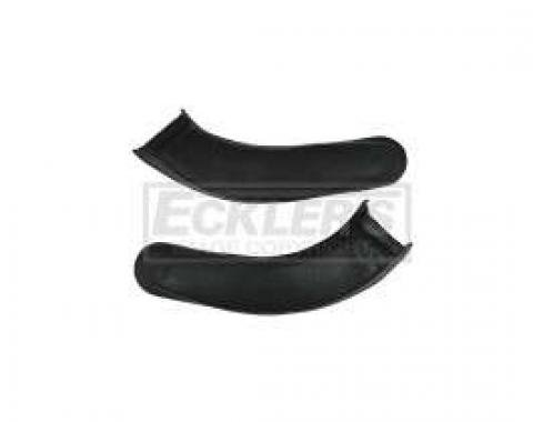 El Camino Bench Seat Hinge Covers, 1966-1972