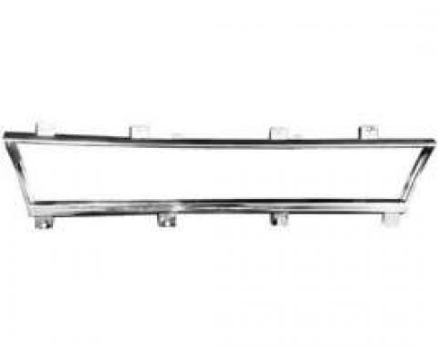 El Camino Speedometer Bezel, Chrome, 1966-1967