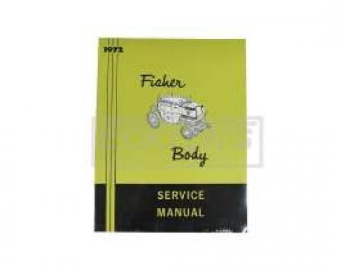 El Camino Body By Fisher Manual, 1972