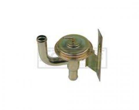 El Camino Heater Water Control Valve, With Air Conditioning, 1969-1970