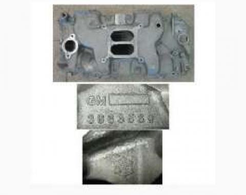 El Camino Intake Manifold, Aluminum, 396/454, 1970