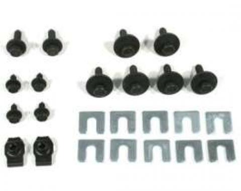 El Camino Fender Related Bolts 24 Piece Kit, 1966