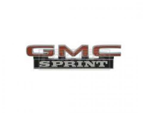 El Camino Roof Side Panel Emblems, (GMC Sprint), 1973-1977