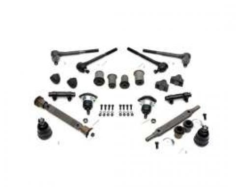 El Camino Front End Kit, Original Style Components, With 1.90 Large Lower Bushing, 1966-1967
