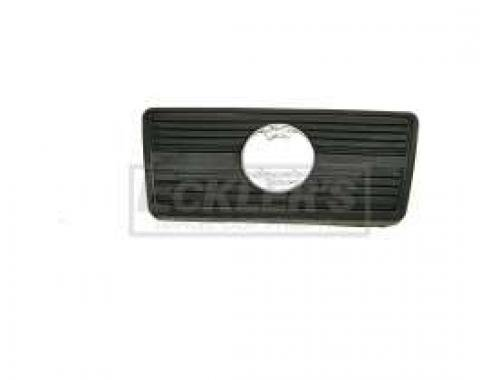 El Camino Brake Pedal Pad, Automatic Transmission With Disc Brakes, 1966-1972