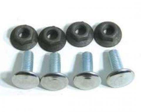 El Camino Bumper Bolt Kits Rear, 8 Pieces, 1976-1977