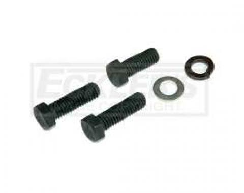 El Camino Air Conditioning Compressor Brace Fasteners, Small Block At Intake, 1970-1971