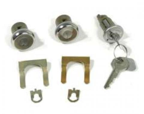 El Camino Ignition & Door Lock Set, Original Style Keys, 1968