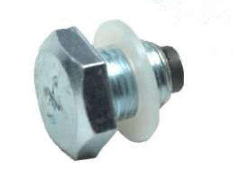 El Camino Oil Pan Drain Plug, Magnetic, With Gasket, 1959-1987