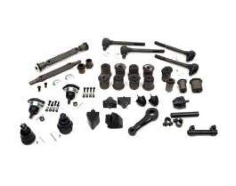El Camino Suspension Kit, Front & Rear, With Oval Lower Front A-Arm Bushings, 1971-1972