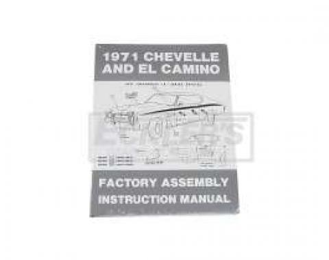 El Camino Factory Assembly Manual, 1971
