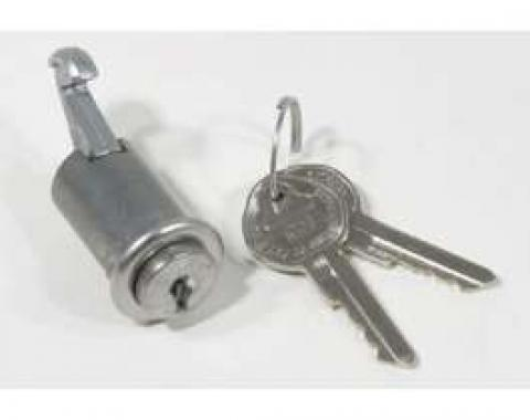 El Camino Glove Box Lock, Original, 1964-1965