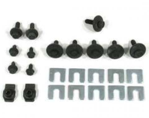 El Camino Fender Related Bolts 24 Piece Kit, 1967