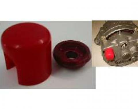 El Camino Alternator Rear Boot, Red, 1964-1975