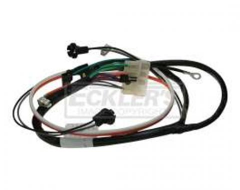 El Camino Center Console Wiring Harness, For Cars With Automatic Transmission, 1968-1972