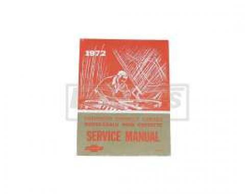El Camino Service Shop Manual, 1972