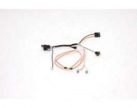 El Camino Center Console Wiring Harness, For Cars With Manual Transmission, 1967