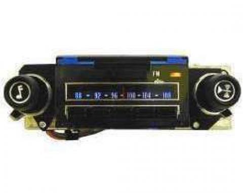 El Camino Radio, AM/FM Reproduction, Super Sport Model, 1971-1972