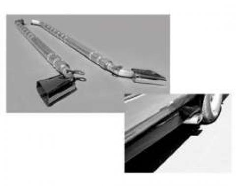 El Camino Exhaust Systems Aluminized Steel Sidepipes With Chambered Mufflers, 1978-1987