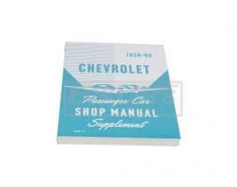 El Camino Service Shop Manual, 1959-1960 Supplement To Main Manual, 1959-1960