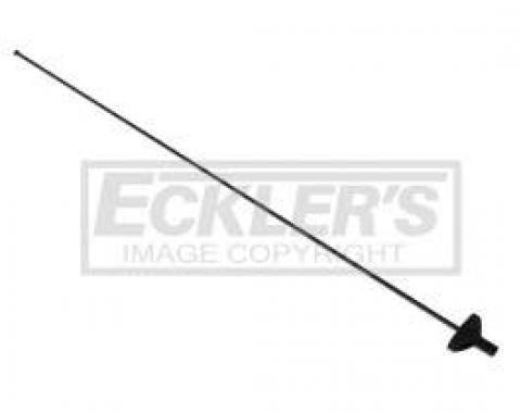 El Camino Antenna Components Mast, Black, 1978-1987