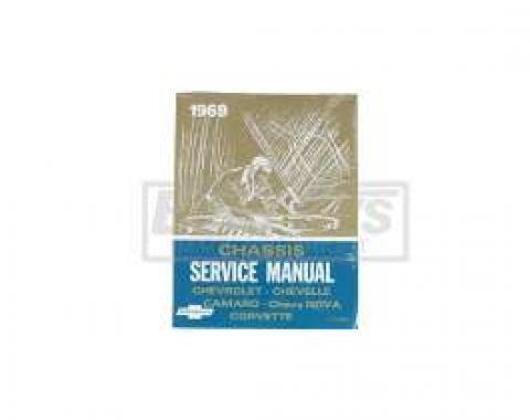 El Camino Service Shop Manual, 1969