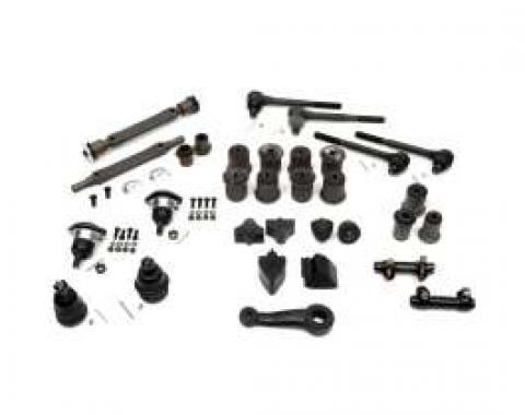 El Camino Suspension Kit, Front & Rear, With 1.67 Lower Front Large A-arm Bushing, 1966-1967
