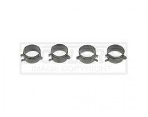 El Camino PCV System Related Bolts PCV Hose Clamps Small Block With Smog & 4-v, 4 Pieces, 1967