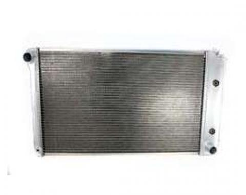 El Camino Griffin Aluminum Radiator, 2 Row With Standard Tubes, Natural Finish, With Automatic Transmission, 1978-1987
