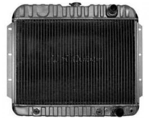 El Camino Radiator, Big Block, 3-Row, Heavy-Duty, For Cars With Automatic Transmission & Without Air Conditioning, U.S. Radiator, 1959-1960