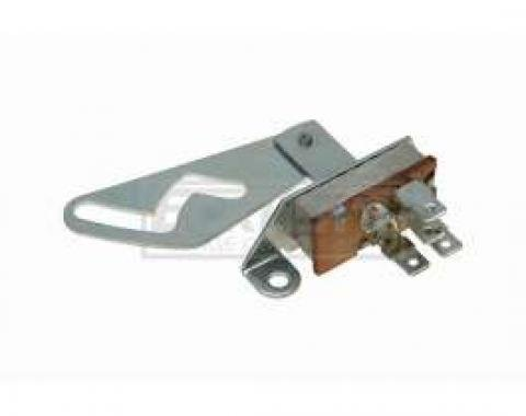 El Camino Heater Control Blower Motor Switch, Without Air Conditioning, 1968-1969