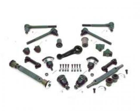 El Camino Front End Kit, Original Style Component, With Large Lower Round Bushing, 1971-1972