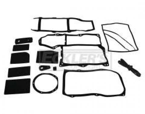 El Camino Heater Box Seal Kit, For Cars With Air Conditioning, 1964-1967
