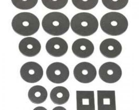 El Camino Body Mount & Core Support Washer Set, 1960