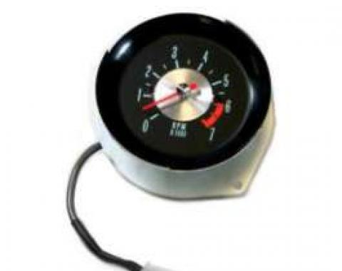 El Camino Tachometer, 7000 RPM, In-Dash Clock Conversion, 1964-1965