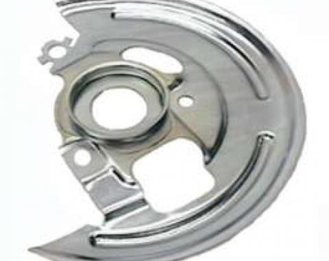 El Camino Disc Brake Backing Plates, Front, 1969-1972
