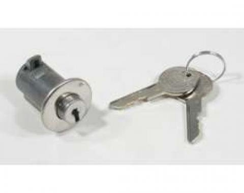 El Camino Glove Box Lock, Original, 1959-1960