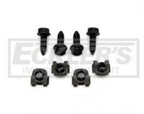 El Camino Front Lower Shock Mounting Fasteners, 1968-1977
