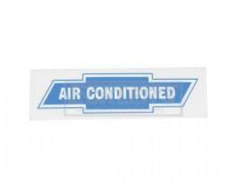 El Camino Air Conditioned Window Decal, 1959-1960