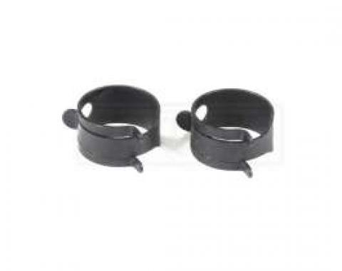 El Camino PCV System Related Bolts PCV Hose Clamps, 2 Pieces, 1965-1970