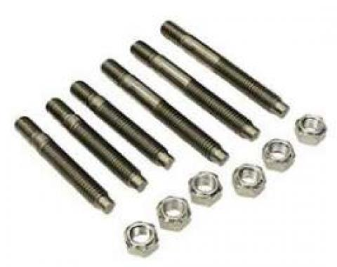 El Camino Exhaust Manifold Stud Set, Small Or Big Block, Stainless Steel, 1964-1973