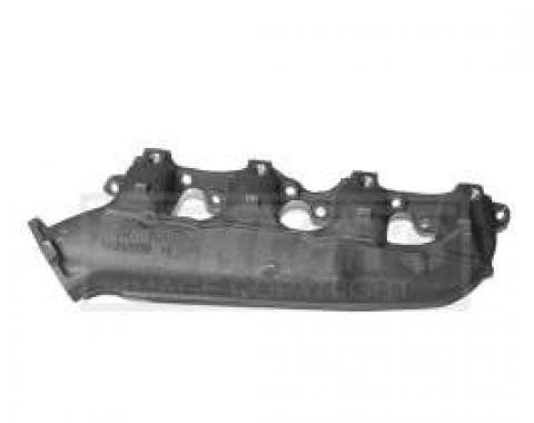 El Camino Exhaust Manifold, Big Block, Right, With Smog Tube Holes (A.I.R.), 1965-1974