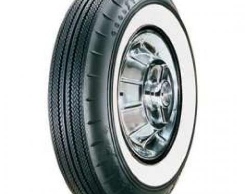 El Camino Tire, 8.00/14 With 2-1/4 Wide Whitewall, Goodyear, 1959-1960